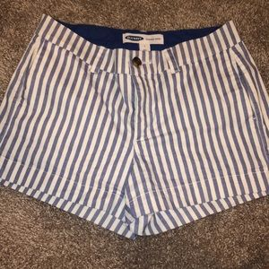 Old navy striped shorts